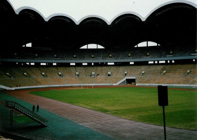 Стадион Первого Мая в Пьхеньяне