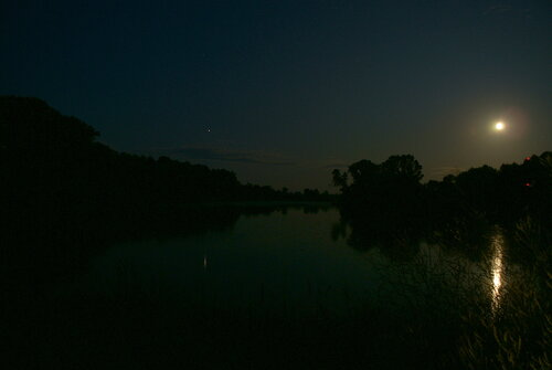 Ночная река