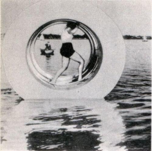 Устройство для пешей прогулки по воде (1938)