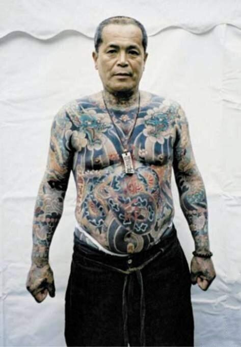 татуировки Якудзы