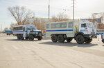В Астрахани прошла первая тренировка парадных расчётов