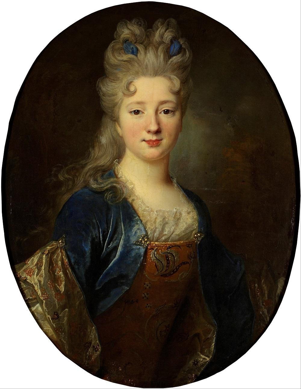 0000 Женский портрет Никола де Ларжильер  автор  Конец 1690-х  холст, масло  80х64 (овал) см.jpg