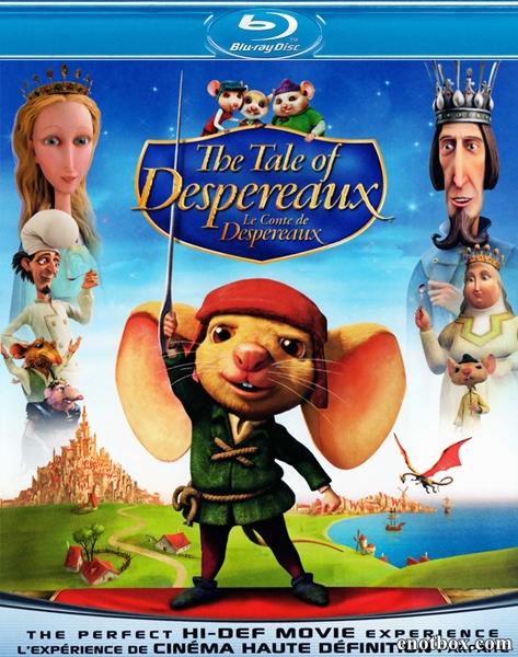 Приключения Десперо / The Tale of Despereaux (2008/BDRip/HDRip)