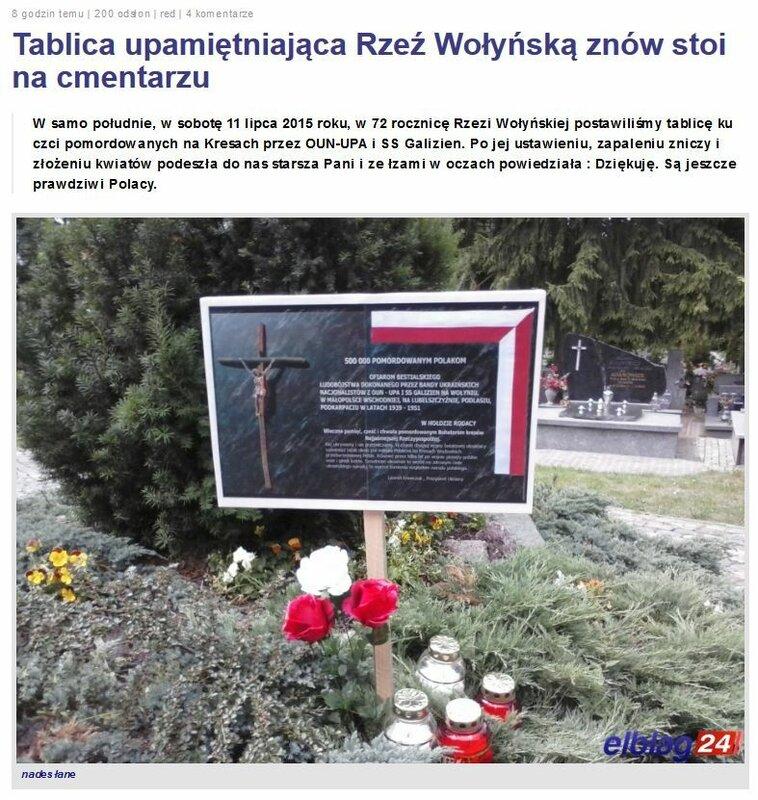 FireShot Screen Capture #2878 - 'Tablica upamiętniająca Rzeź Wołyńską znów stoi na cmentarzu • Elbląg › Elblag24_pl - Elbląg, Olsztyn, Gdańsk' - www_elblag24_pl_89368-tablica-upamietniajaca-rzez-wolynska-znow-stoi-.jpg