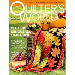 Журнал Quilter's World - October 2009