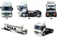 Книга Бумажная модель HONDA Truck Transporter.