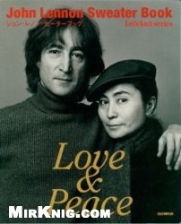 Журнал John Lennon Sweater Book: Love&Peace.  Lets Knit series NV3736