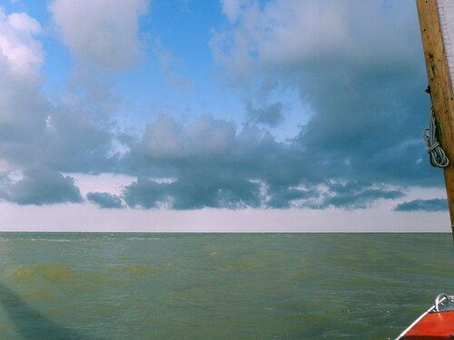 Август 2011, на яхте, Ачуевская коса