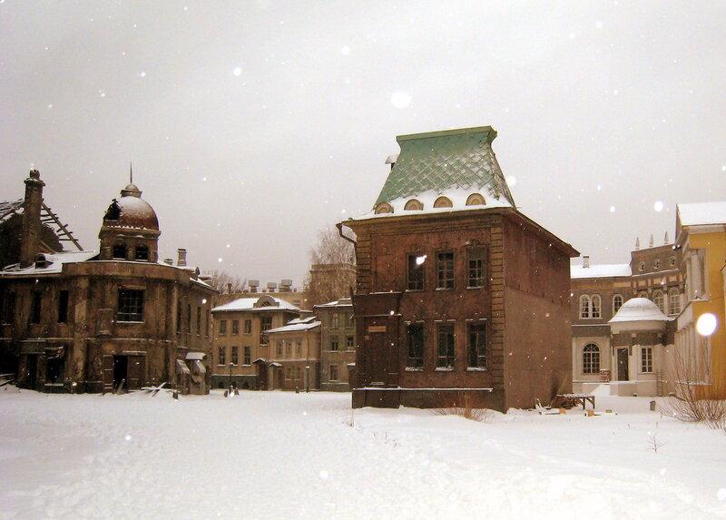 Москва. Снег