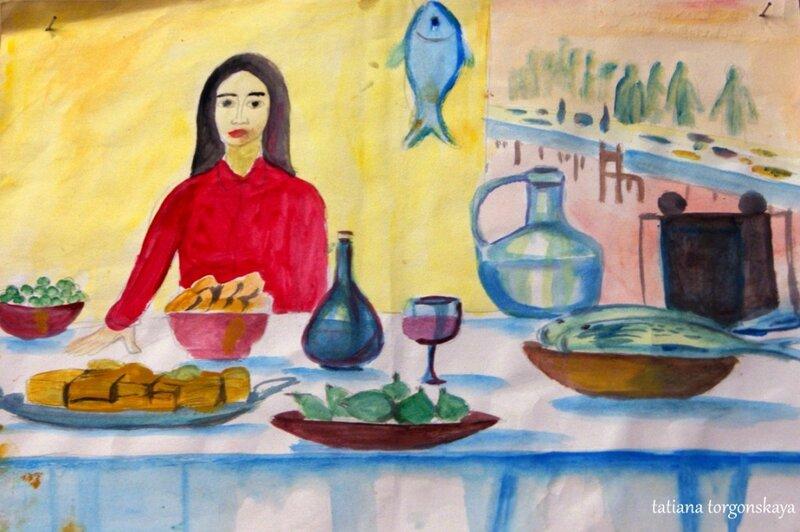 Рисунок с выставки