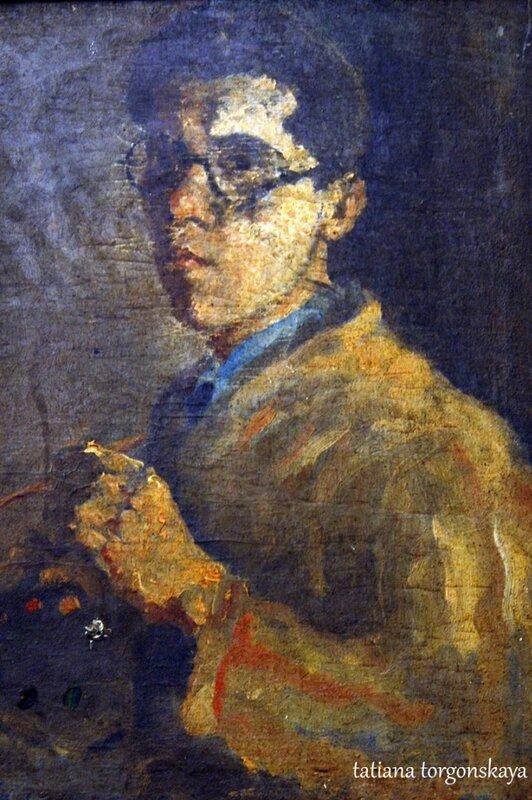 Йосип-Бепо Бенкович, автопортрет