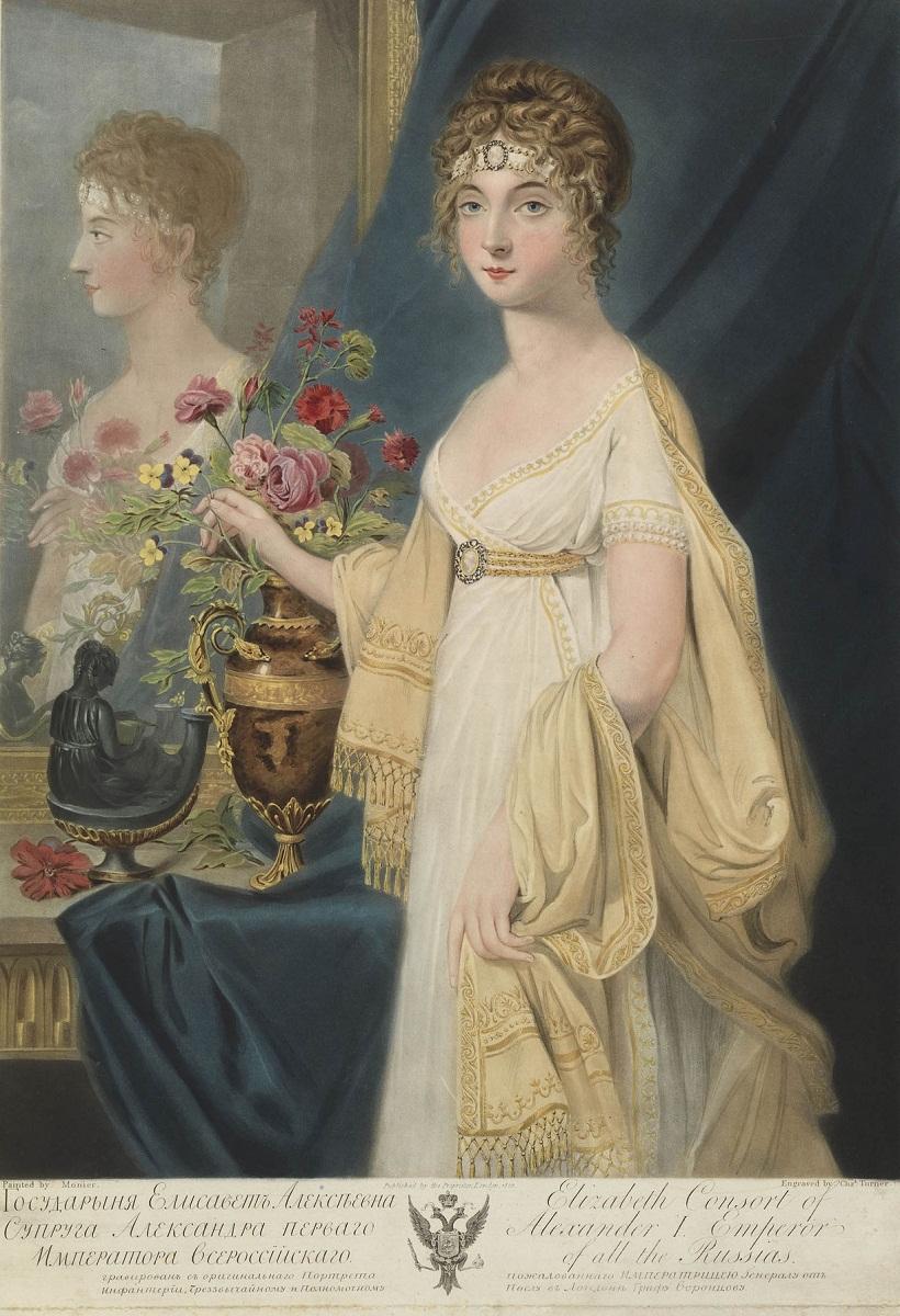 Елизавета Алексеевна (урождённая Луиза Мария Августа Баденская) Jean-Laurent Mosnier