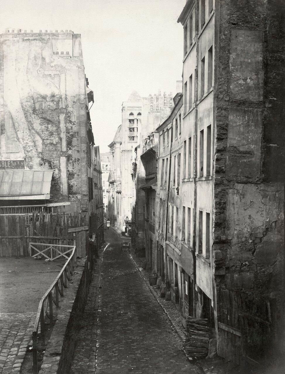 1850-е. Рю Сен-Никола-дю-Шардонне