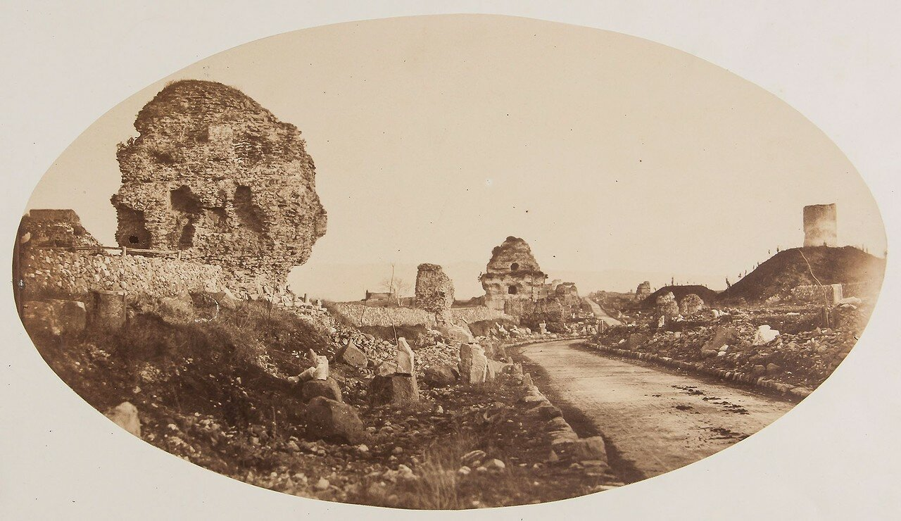 Гробницы на Аппиевой дороге, Акведук Клавдия, конец 1850-х