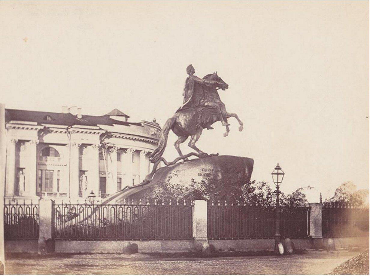 1865. Памятник Императору Петру I
