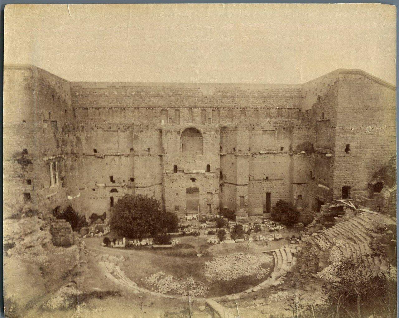 Арена амфитеатра. 1880-е