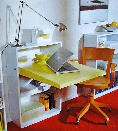 письменный стол-бюро своими руками