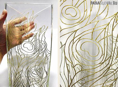 Чем рисовать узоры на стекле своими руками 67