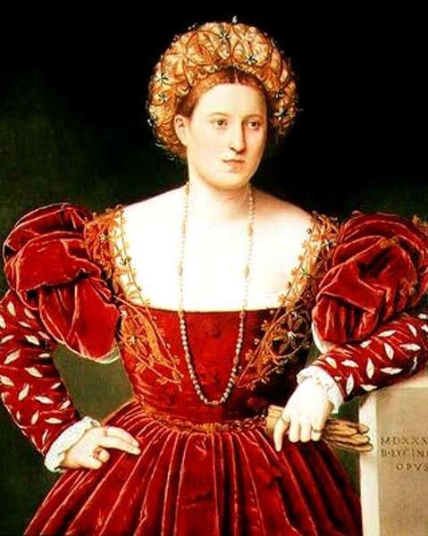Licinio, 1530s: Portrait Of A Woman