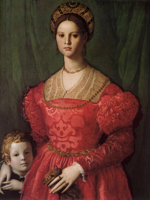 Agnolo Bronzino: Young Woman and Her Little Boy, 1540-1545