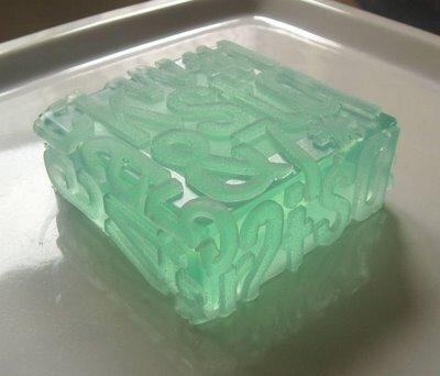 Сделано из мыла