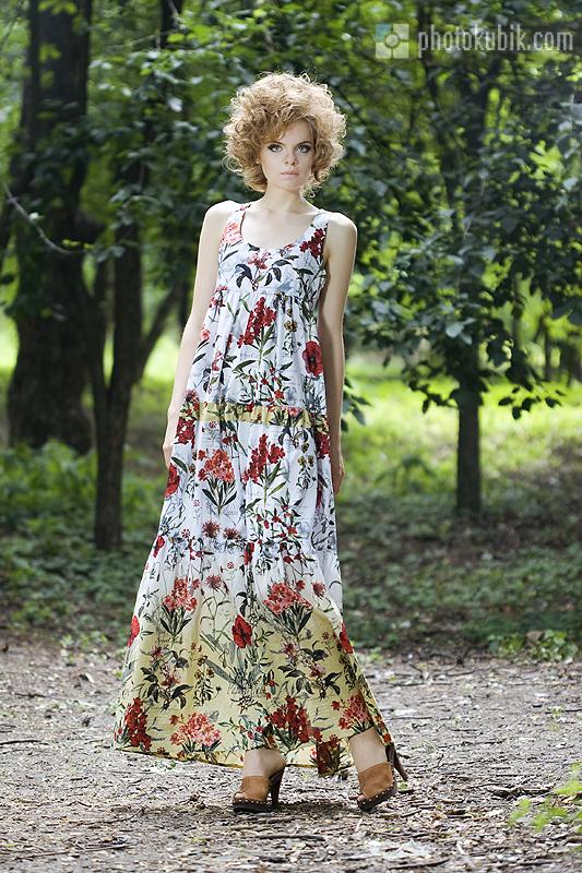 Купить летние длинные сарафаны для полных 2012 оптом - модные сарафаны.