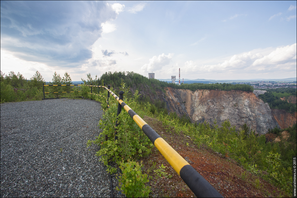 Смотровая площадка Высокогорского рудника