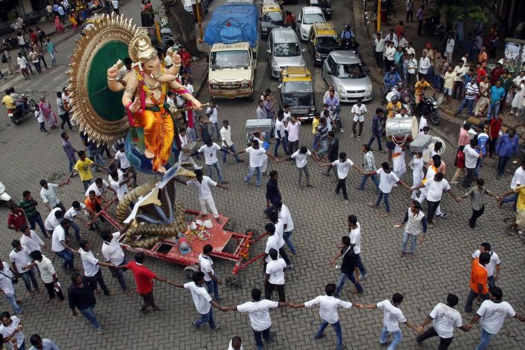В Индии празднуют День рождения Ганеша 0 1454cc e42eac7 orig