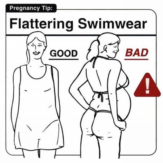 Инструкция для беременных (21 понятная картинка)