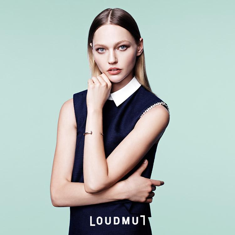 Саша Пивоварова для Loudmut