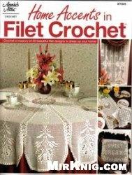 Книга Home Accents in Filet Crochet