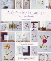 Книга Abecedaire botanique lettres a broder