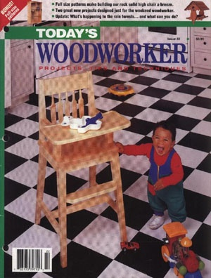 Журнал Today's Woodworker №22 July-August 1992