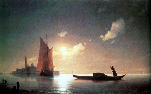 Айвазовский. Гондольер на море ночью.jpg