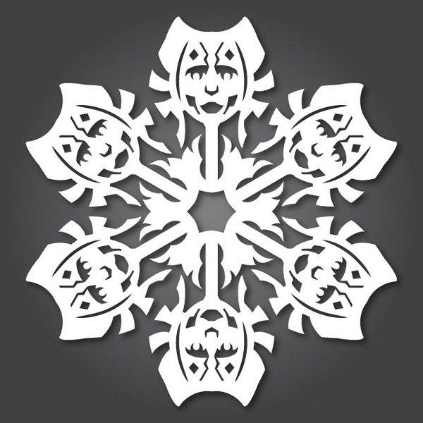 Star Wars Snowflakes.