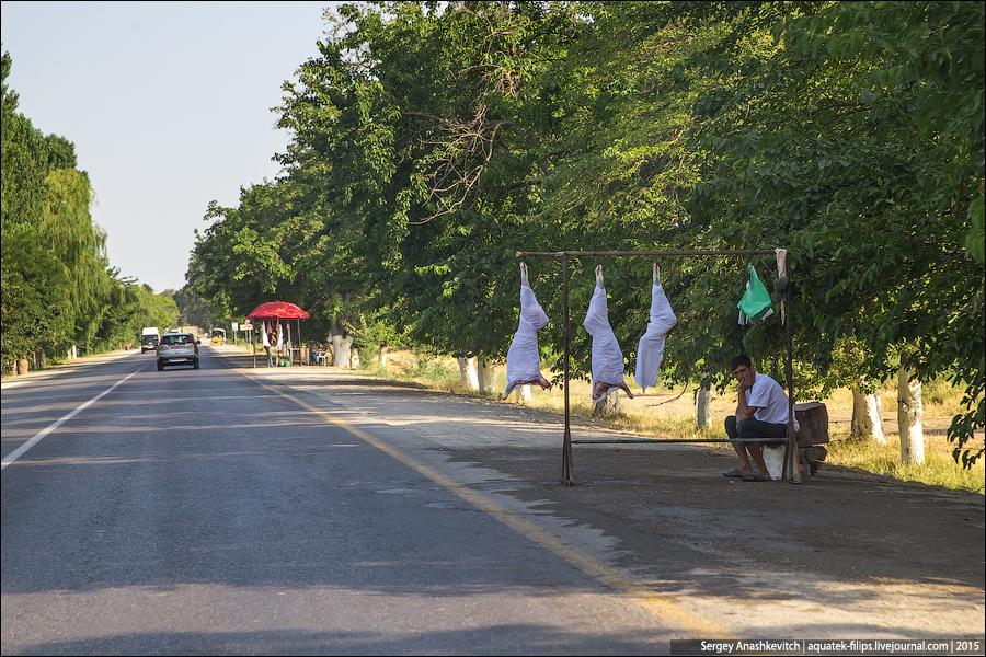 Дорожные мясники в Азербайджане