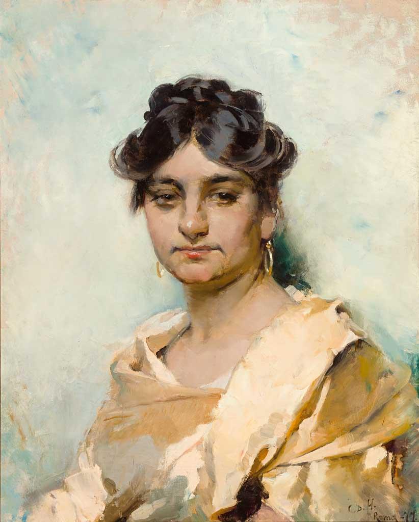 Portrait Of A Woman, 1877