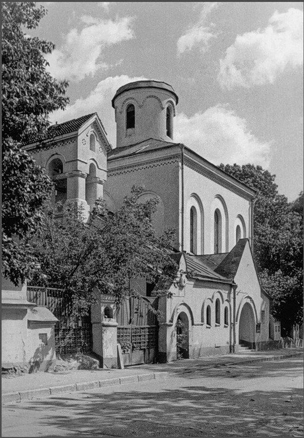 1970-е. Старообрядческая церковь Покрова Богоматери в Турчаниновском переулке