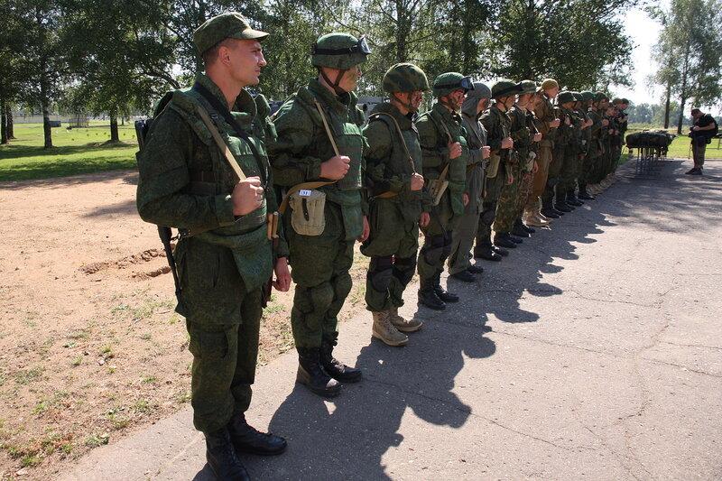 Новой формы российской армии