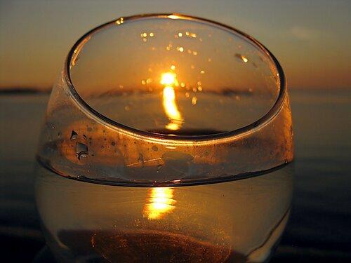 Солнце в бокале
