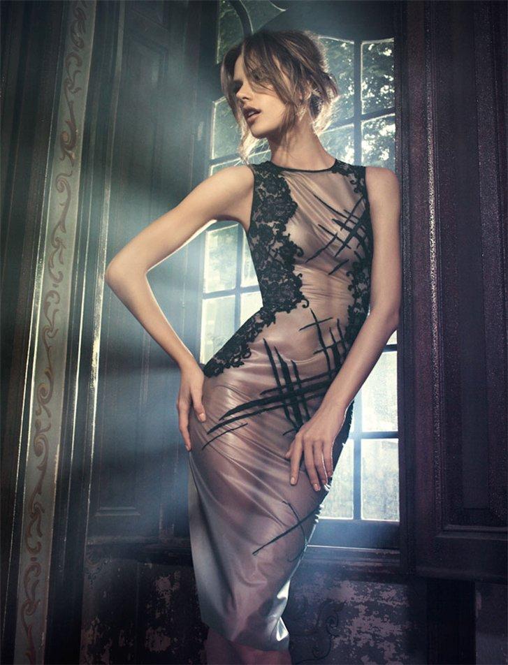 Алессандра Амбросио / Alessandra Ambrosio by Jacques Dequeker