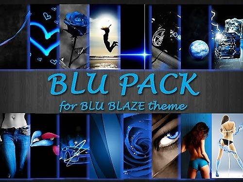 Тема Blu Blaze by giulio7g и обои к ней. NOKIA 5530, 5800, N 97