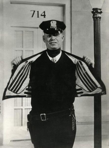 Куртка с электроподогревом (США, 1932)