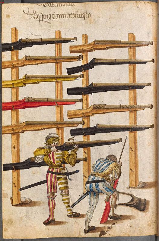 История оружия в картинках Zeugbuch Kaiser Maximilians