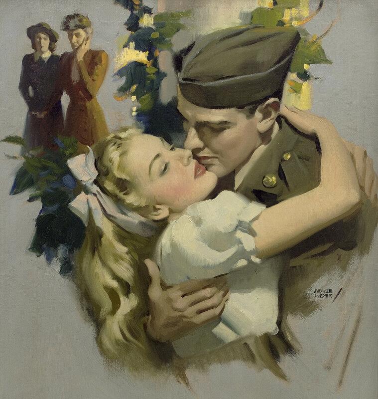 Vintage Illustration.  Иллюстрации в журналах