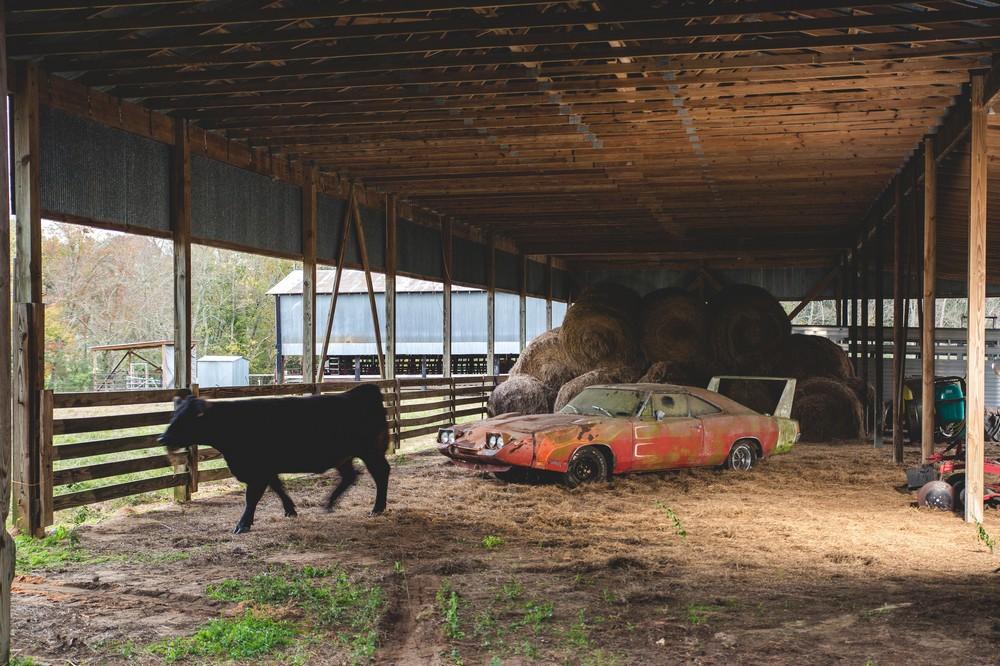 В американском сарае нашли уродливый, но редкий автомобиль