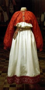 древнерусский народный костюм