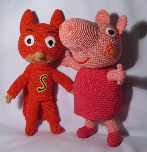 Вот мои очаровашки Пеппа и Сам