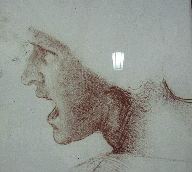 Леонардо (на выставке в Кронверке)