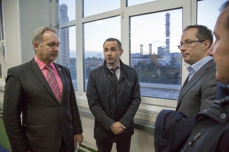 Министр спорта Роман Терюшков посетил Краснознаменск